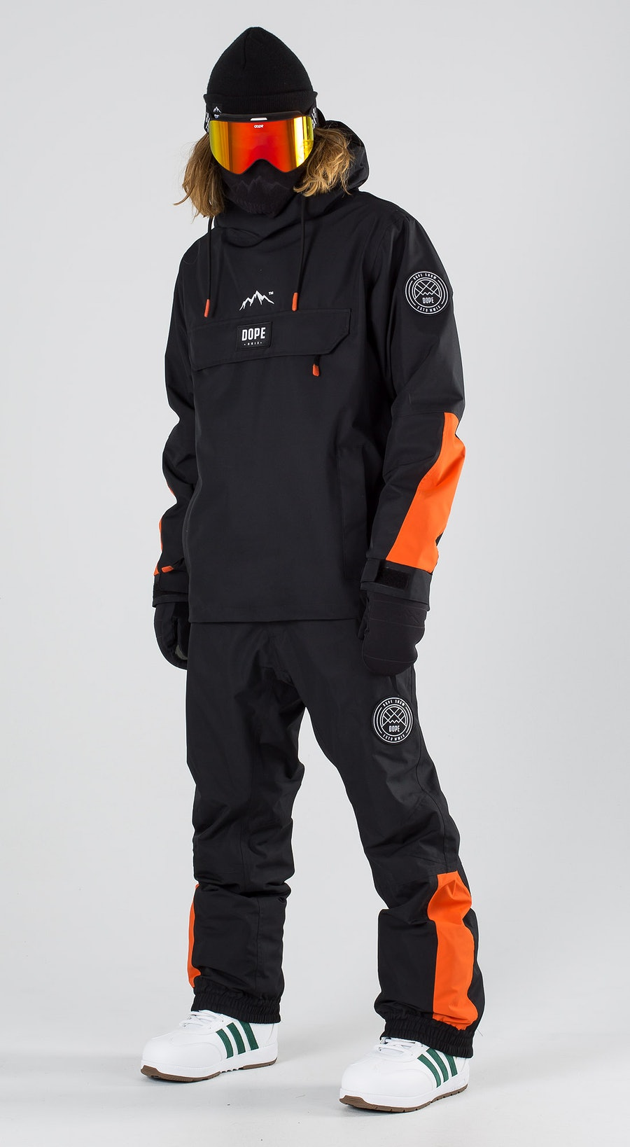 Dope Blizzard LE Black Orange Snowboardklaer Multi