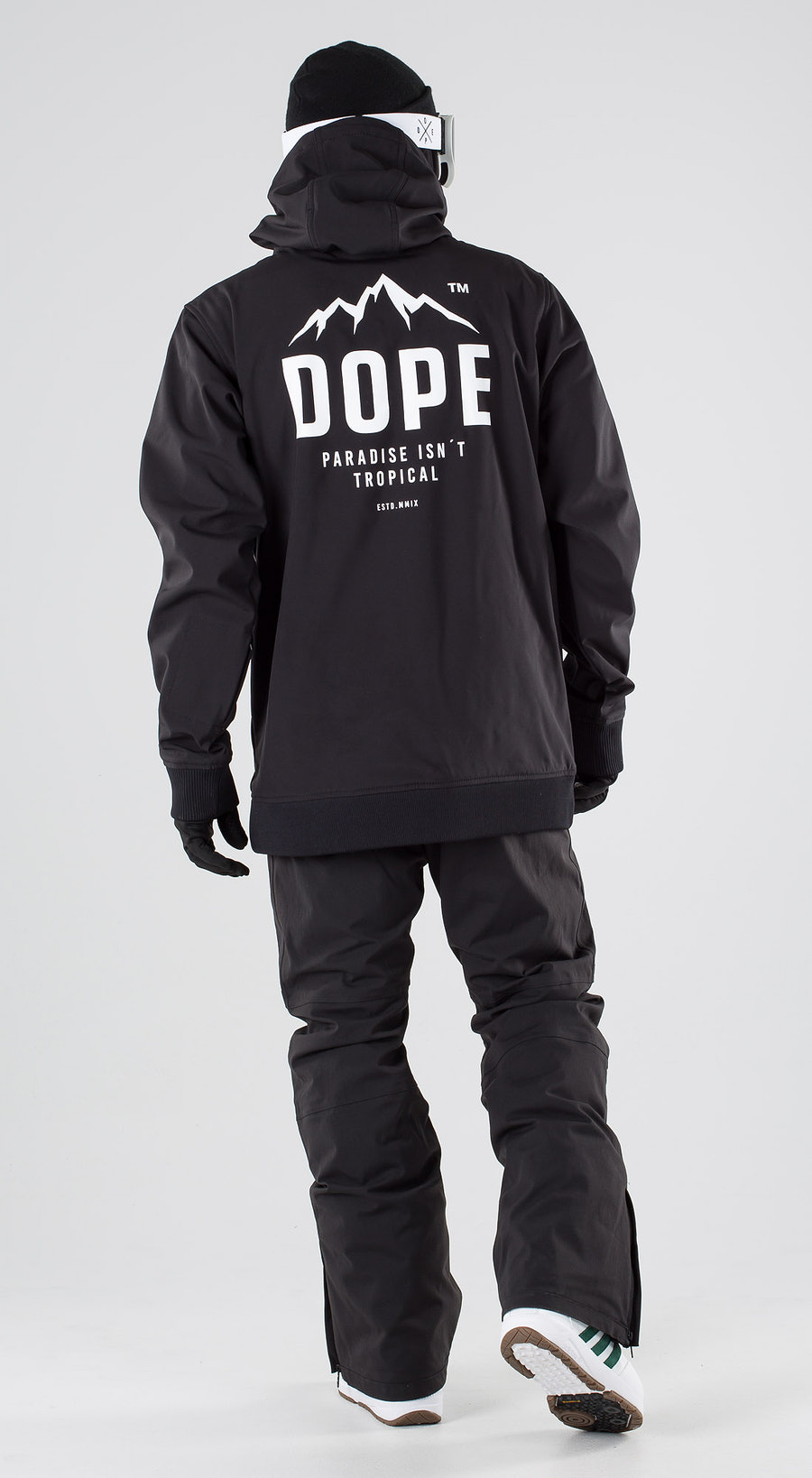 Dope Yeti Paradise II Black Vêtements de snowboard  Multi