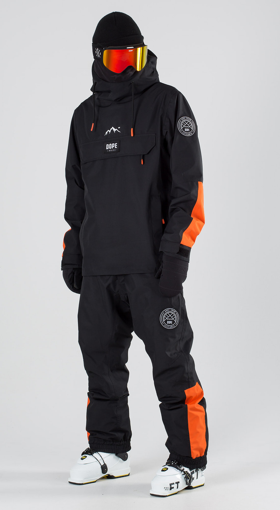Dope Blizzard LE Black Orange Ski clothing Multi