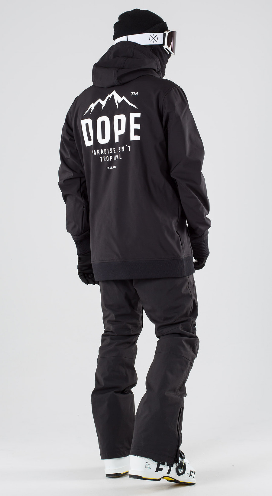 Dope Yeti Paradise II Black Ski clothing Multi