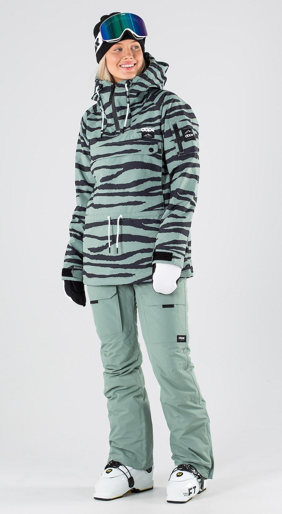 Dope Annok W Green Zebra Abbigliamento da sci Multi