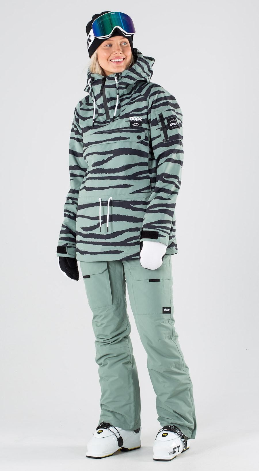 Dope Annok W Green Zebra Skibekleidung Multi