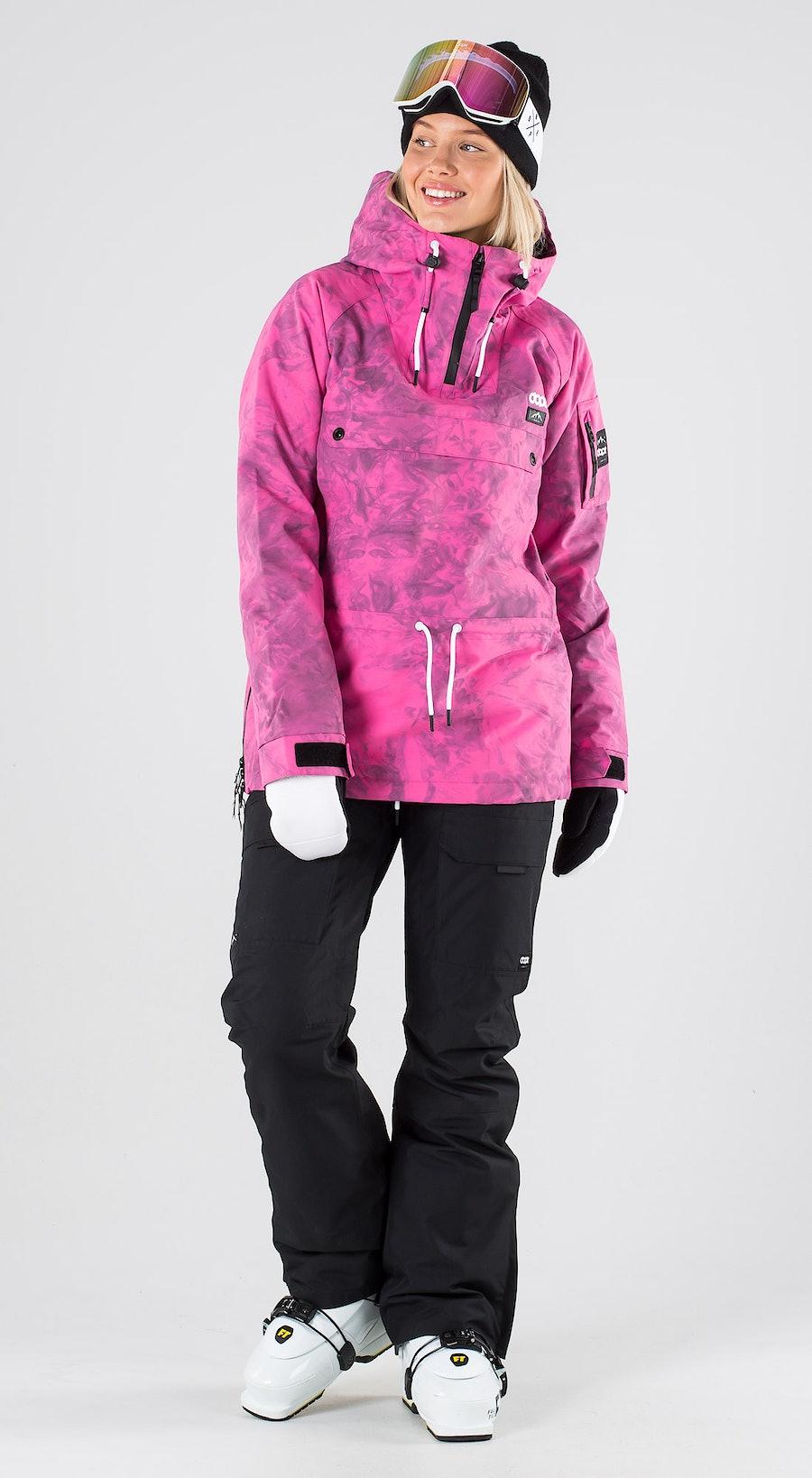 Dope Annok W Pink Tiedye Abbigliamento da sci Multi