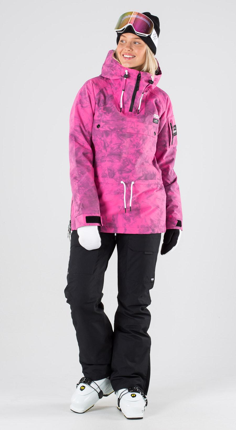Dope Annok W Pink Tiedye Skibekleidung Multi