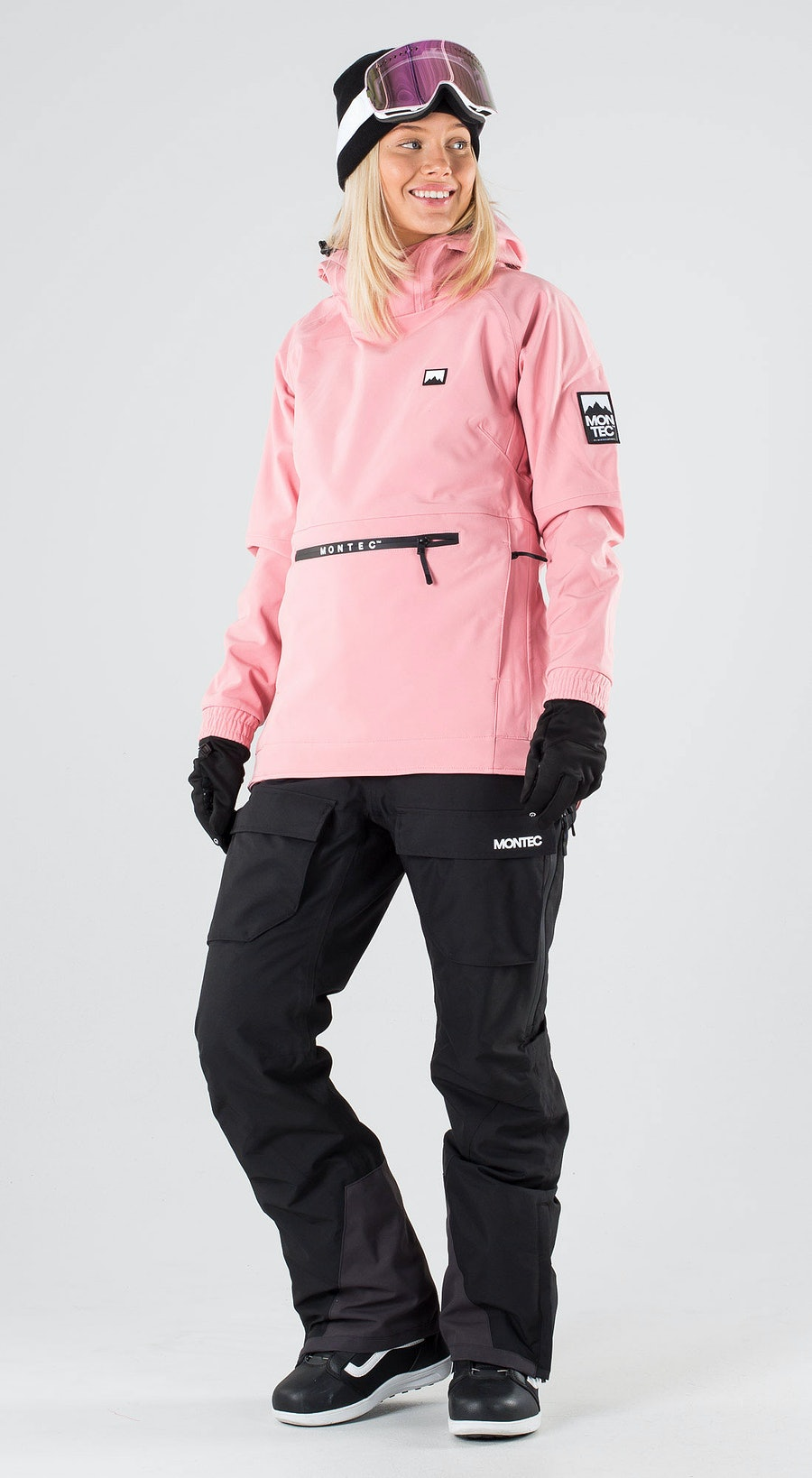 Montec Tempest W Pink Snowboard clothing Multi