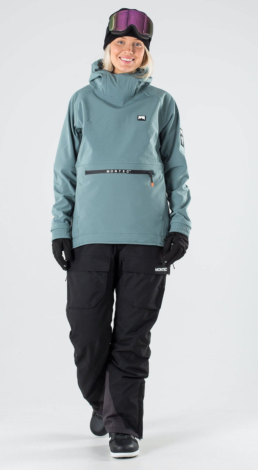 Montec Tempest W Atlantic Vêtements de Snowboard  Multi