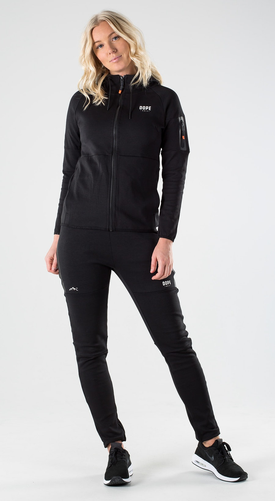 Dope Ronin 2X-UP Zip W Black Outfit Multi
