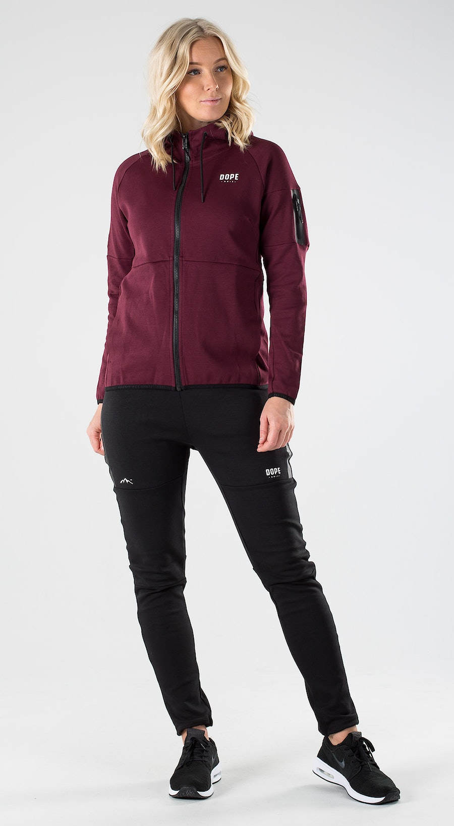 Dope Ronin 2X-UP Zip W Burgundy Outfit Multi