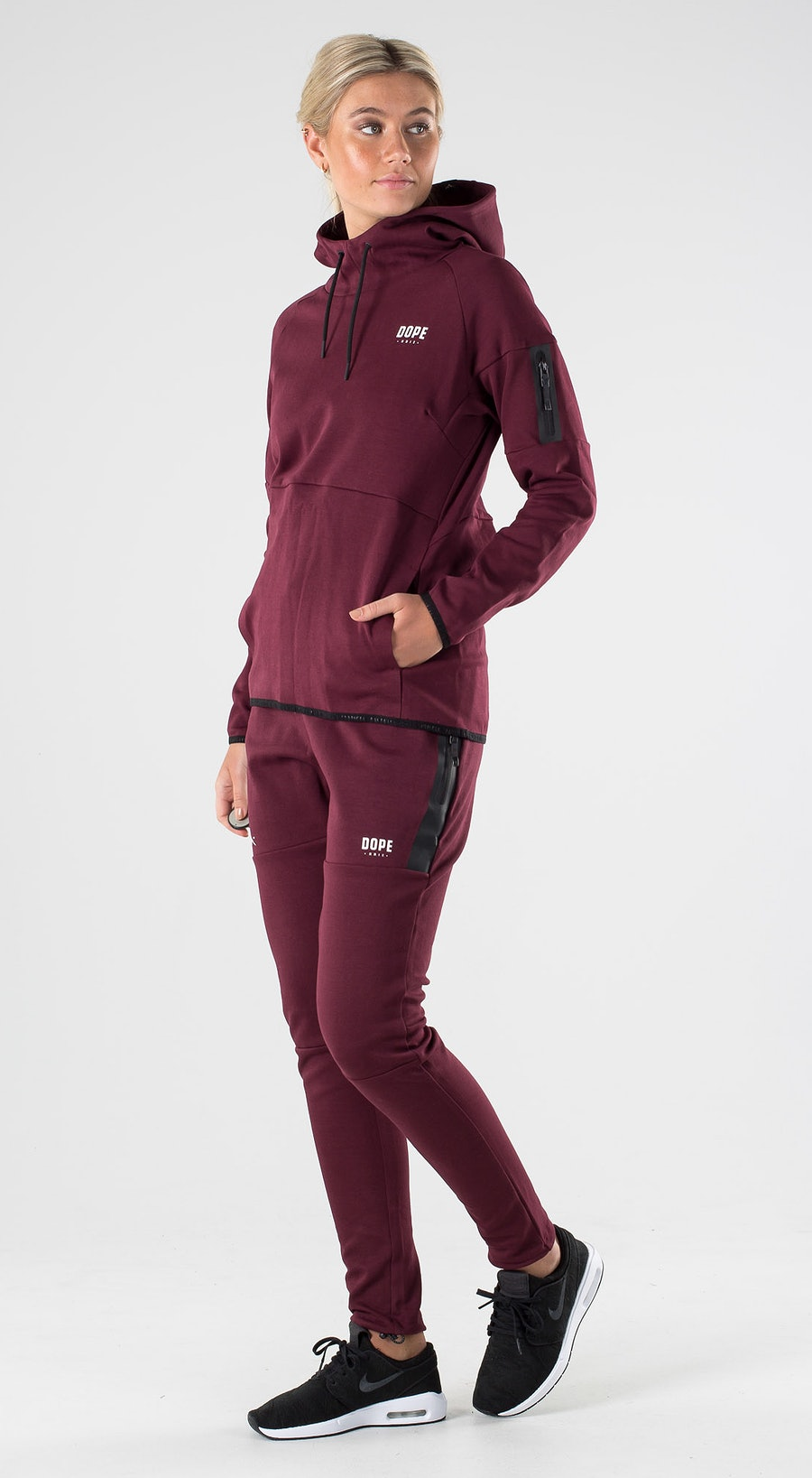 Dope Ronin 2X-UP W Burgundy Outfit Multi