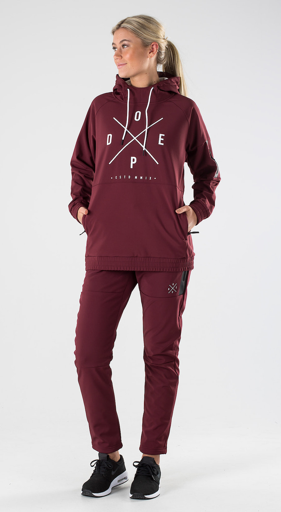 Dope Rambler W Burgundy Outfit Multi
