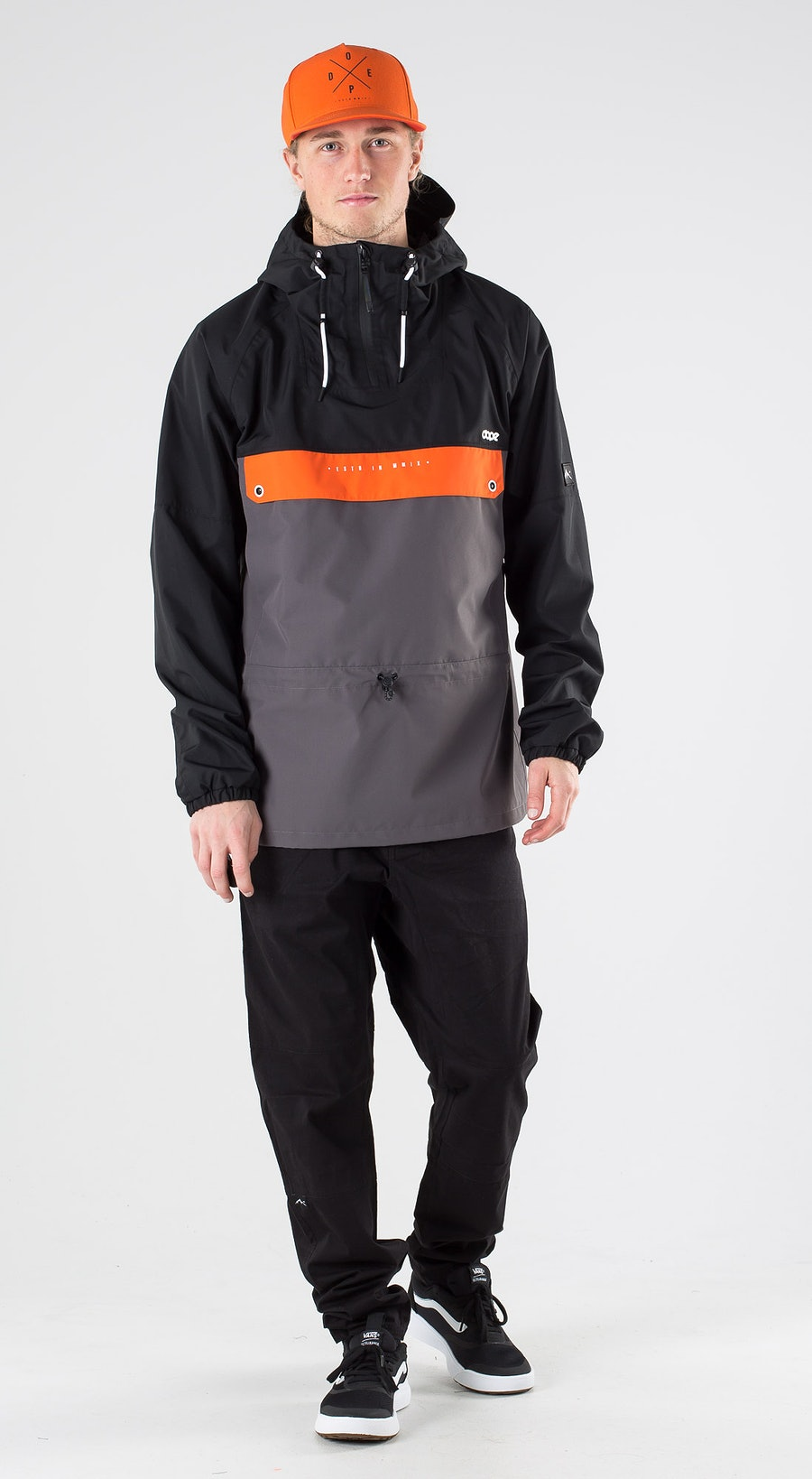 Dope Hiker Black Orange blackened pearl Outfit Multi