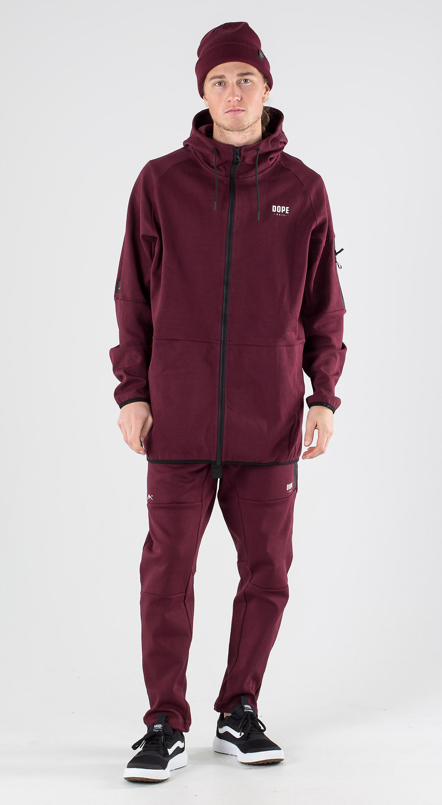 Dope Ronin 2X-UP Zip Burgundy Outfit Multi