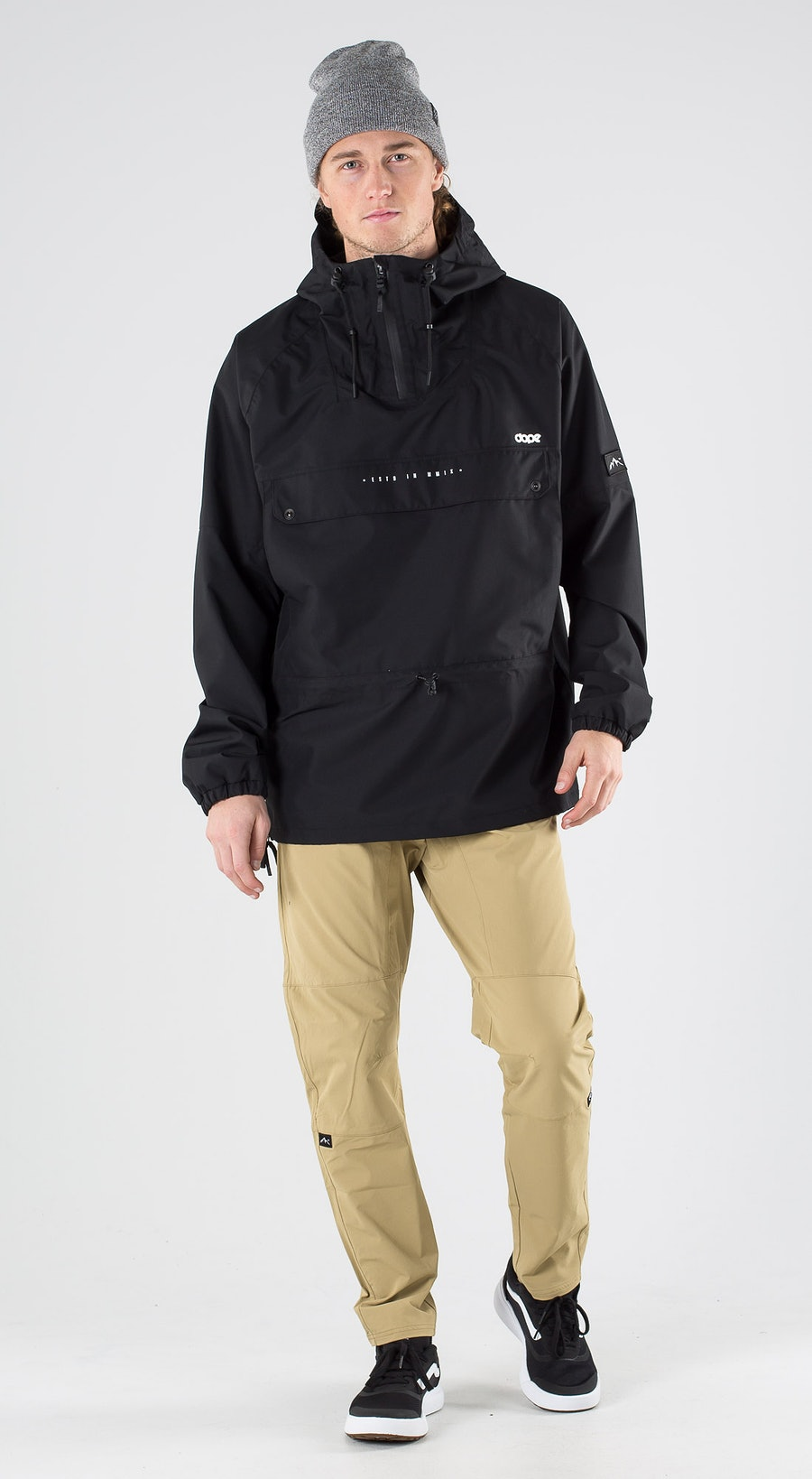 Dope Hiker Black Outfit Multi