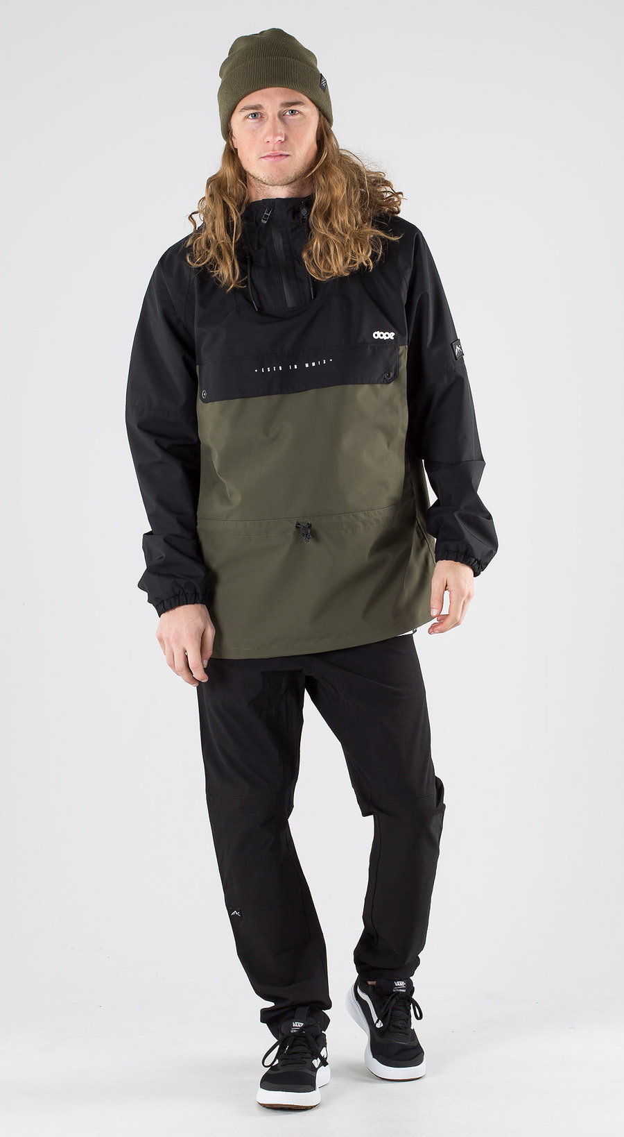 Dope Hiker Black Green Outfit Multi