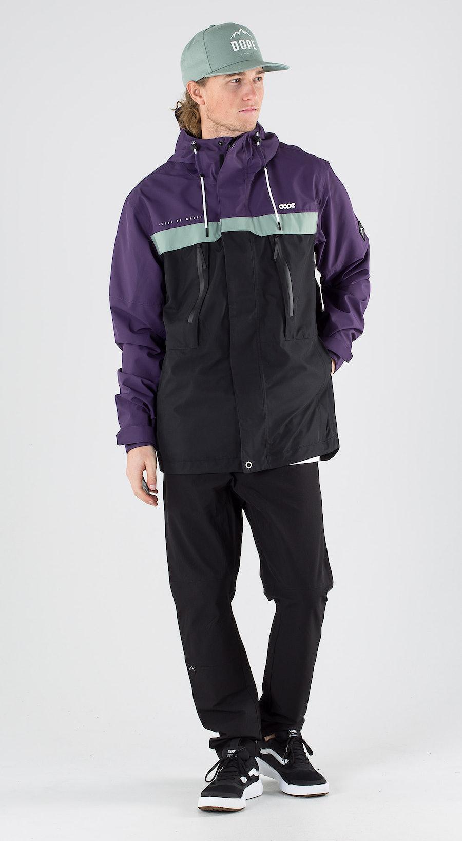Dope Trekker Grape Faded Green Black Outfit Multi