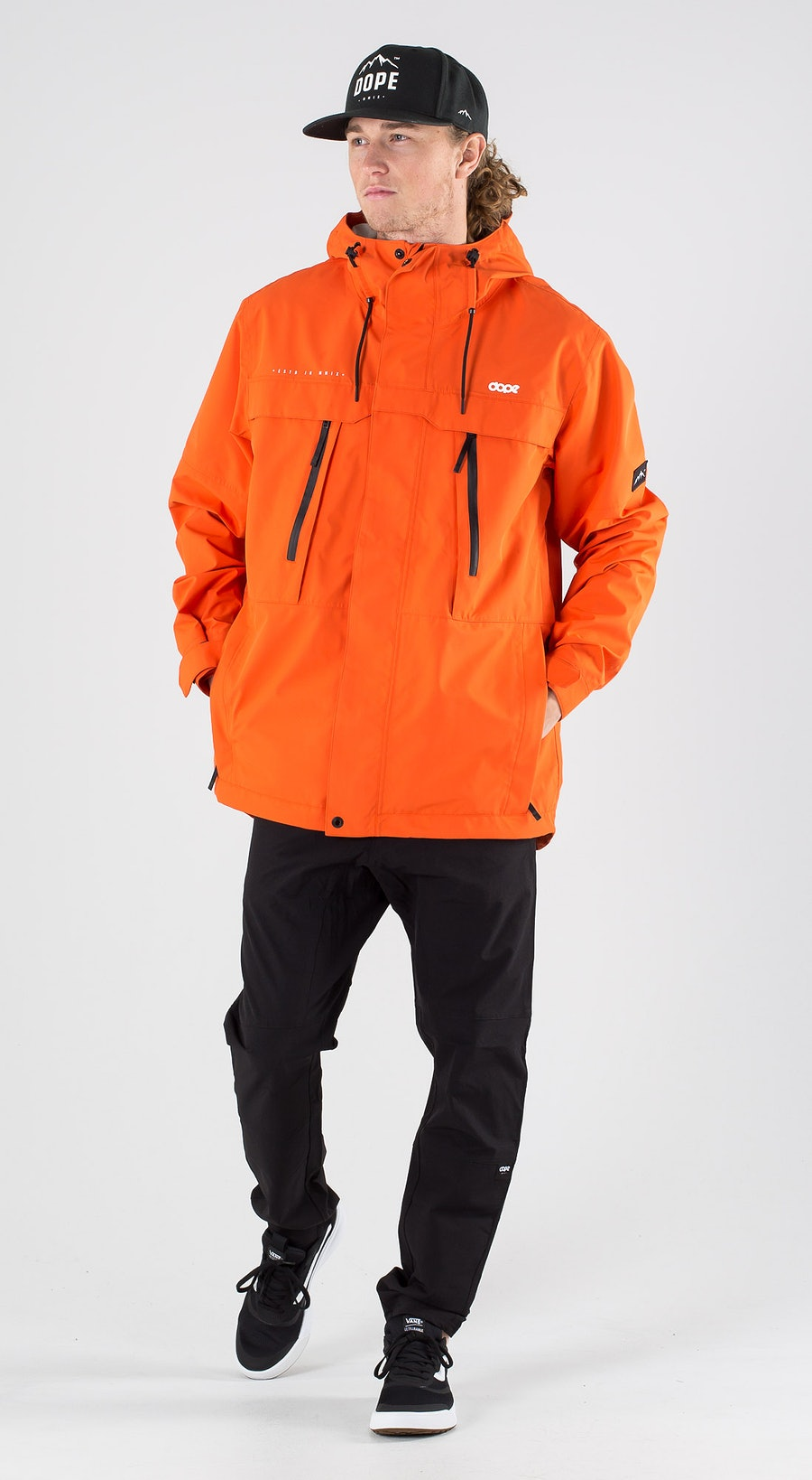 Dope Trekker Orange Outfit Multi