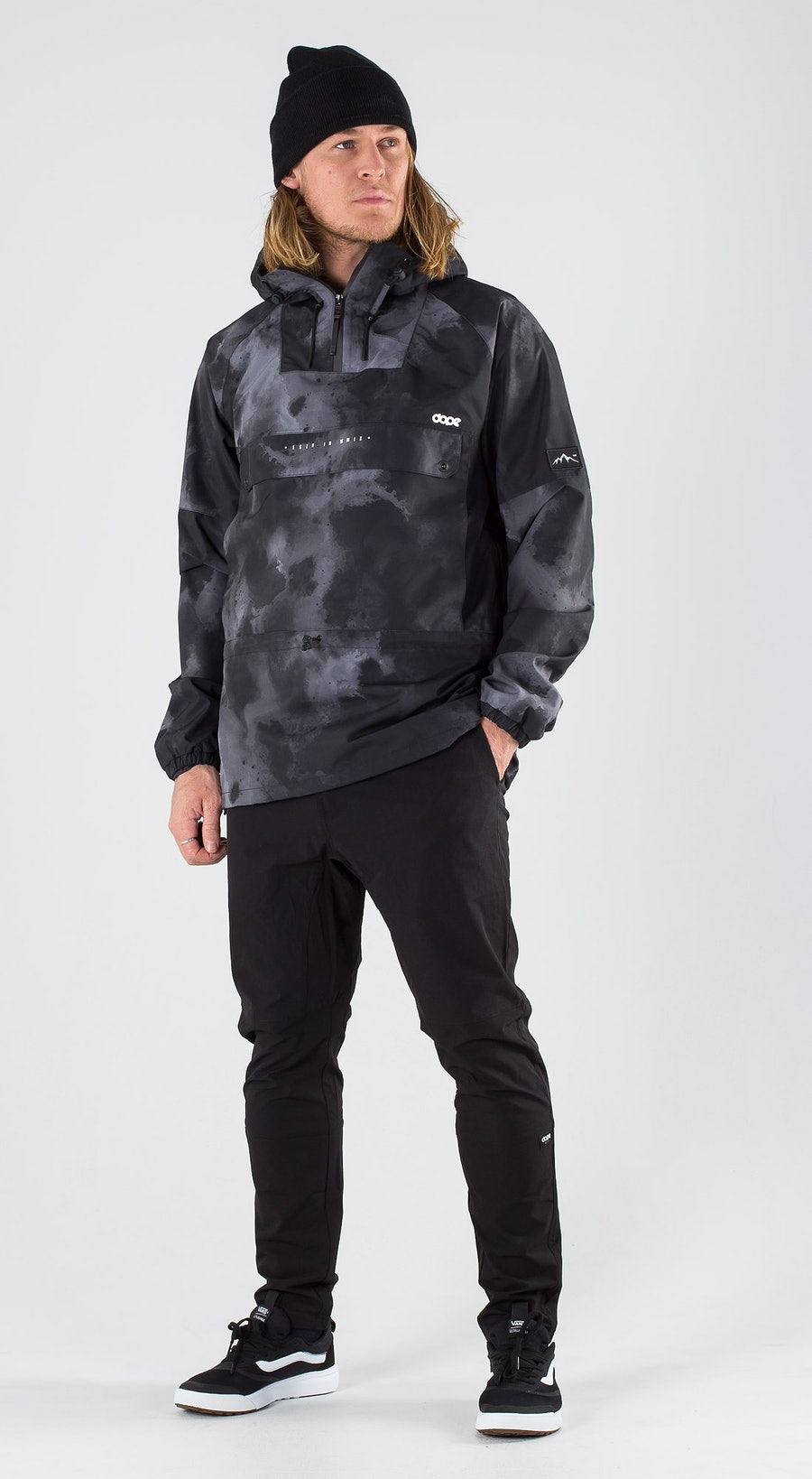 Dope Hiker Black Batic Outfit Multi