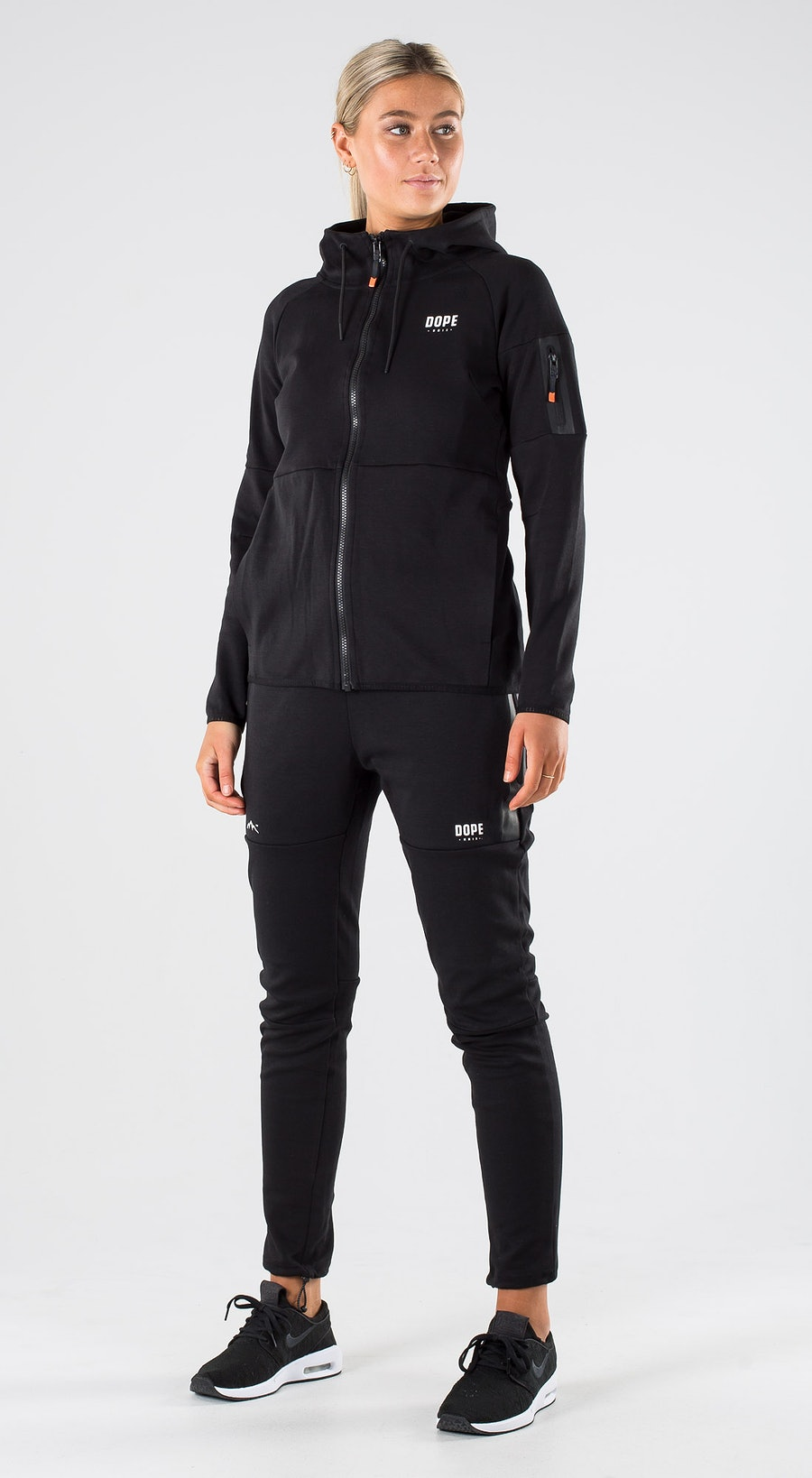 Dope Ronin Zip W Black Outfit Multi