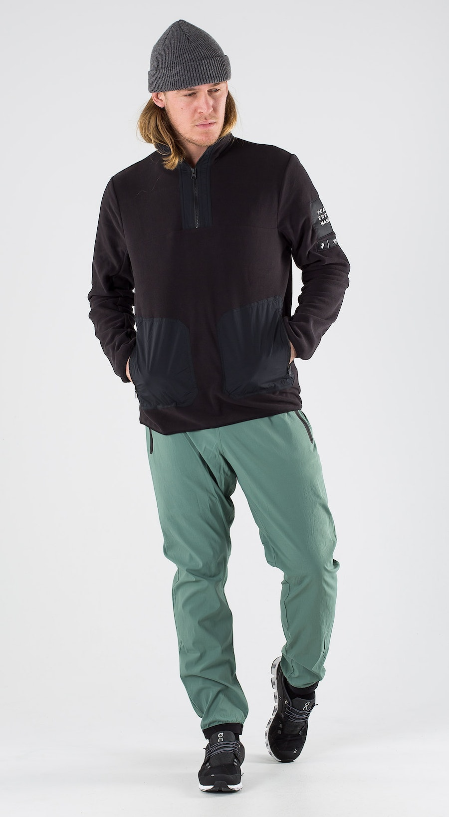 Peak Performance Tech Fleece TN Black Outfit Multi
