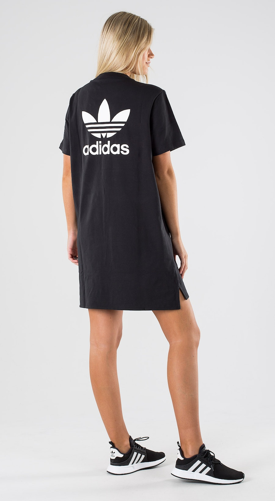 Adidas Originals Trefoil Dress Black White Outfit Multi