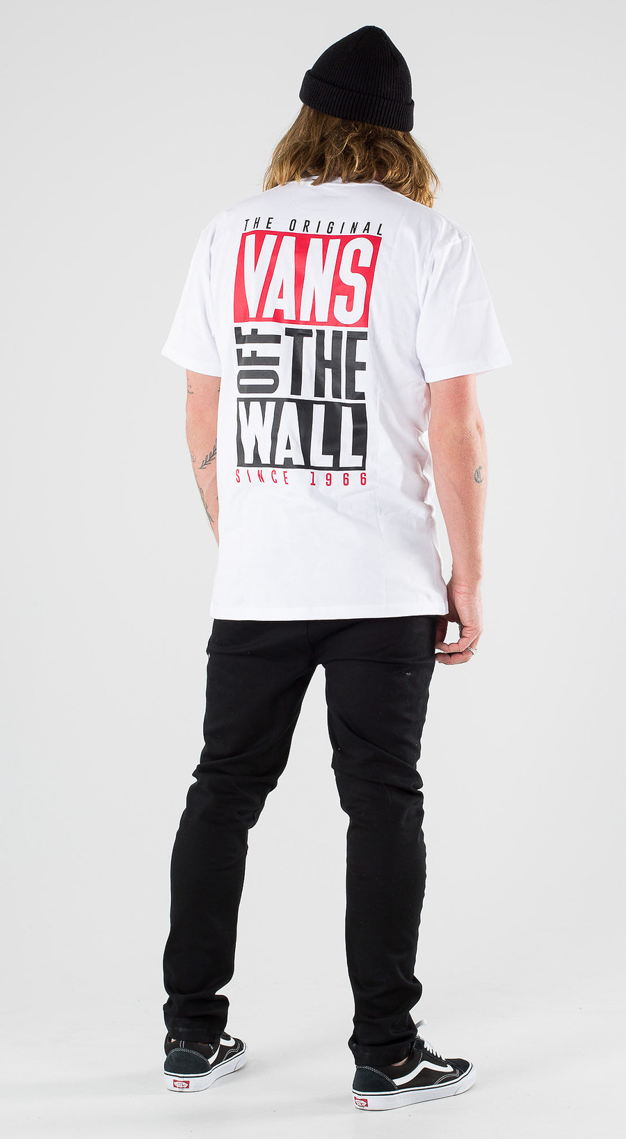 Vans New Stax SS White Outfit Multi