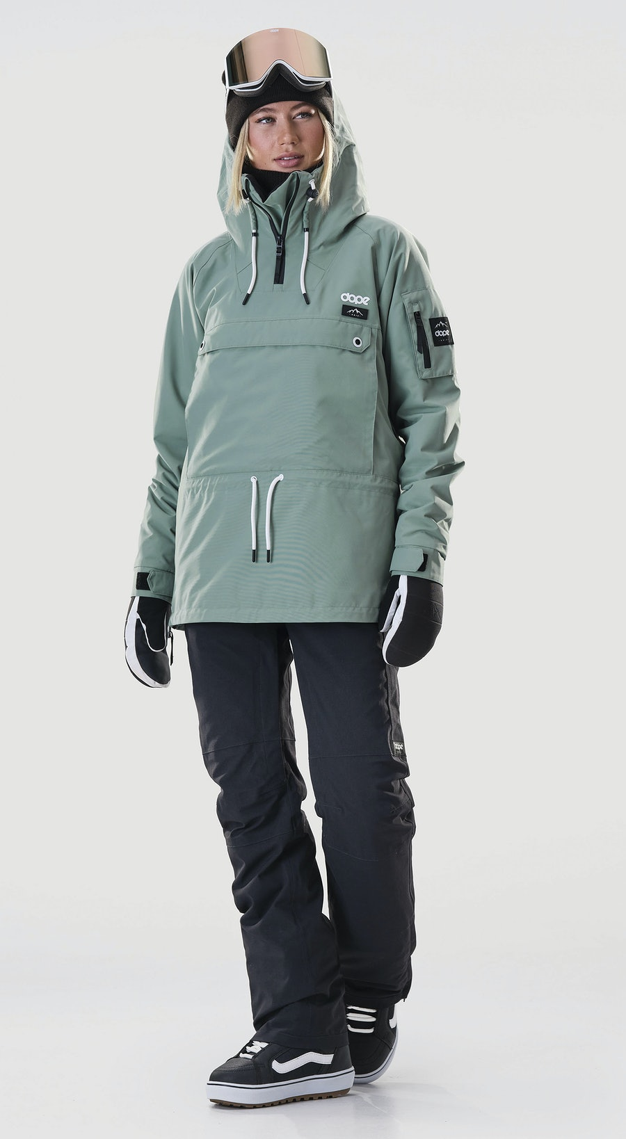 Dope Annok W Faded Green Vêtements de Snowboard  Multi