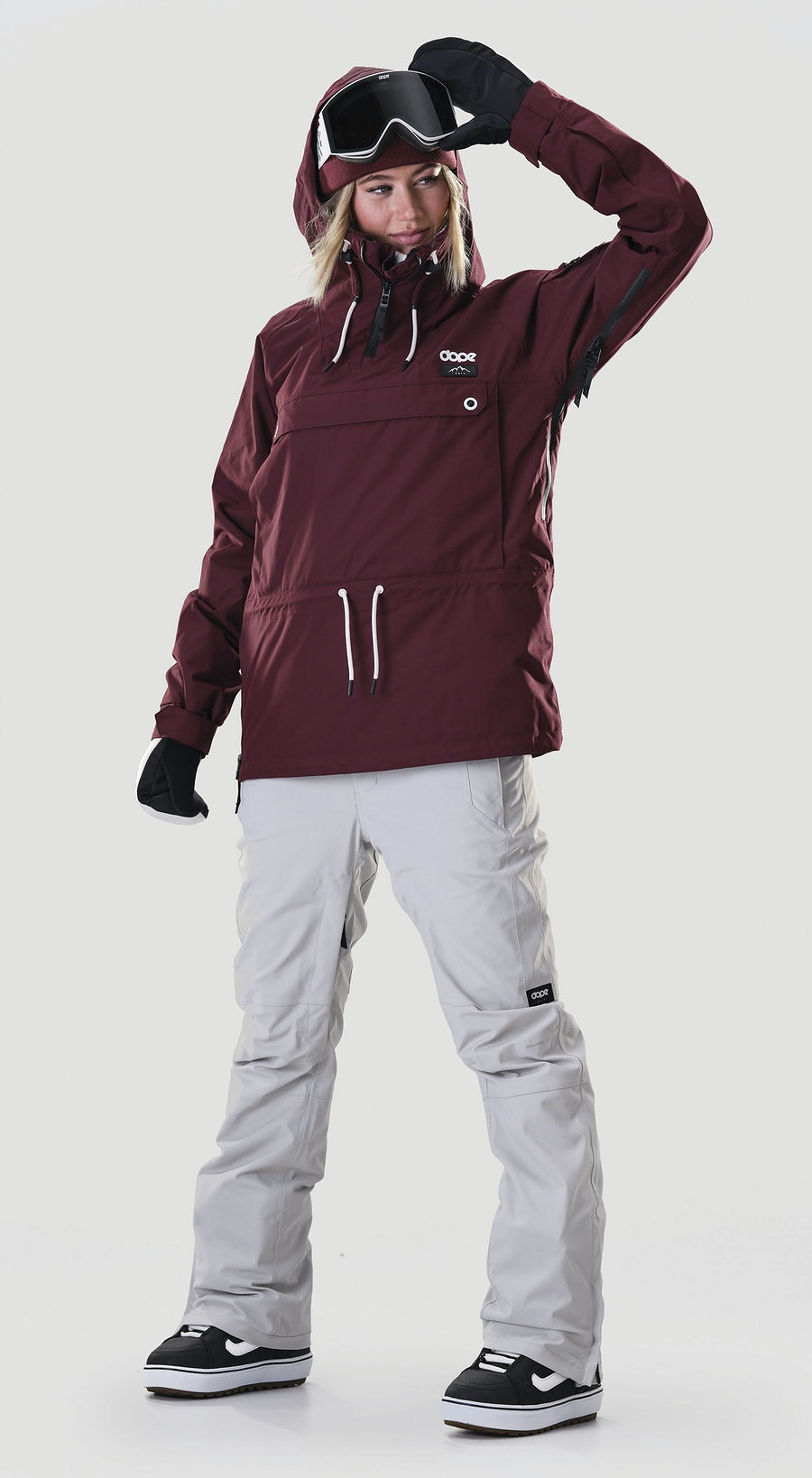 Dope Annok W Burgundy Snowboard clothing Multi