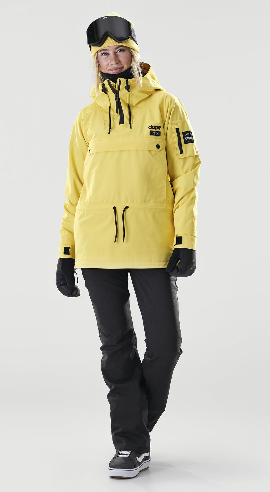 Dope Annok W Faded Yellow Vêtements de Snowboard  Multi