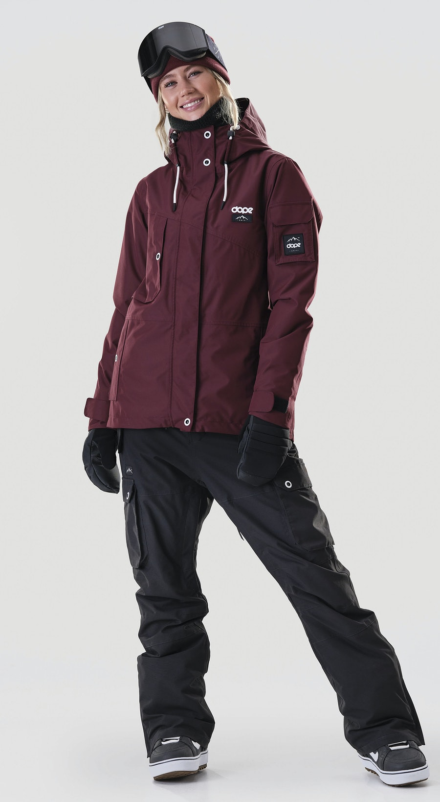 Dope Adept W Burgundy Snowboard clothing Multi