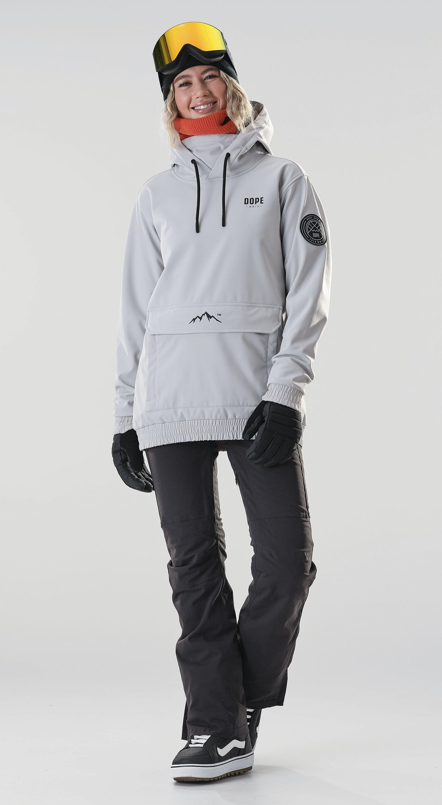 Dope Wylie Capital W Light Grey Vêtements de Snowboard  Multi