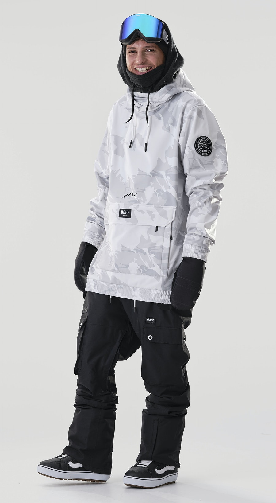 Dope Wylie Patch Tucks Camo Vêtements de Snowboard  Multi