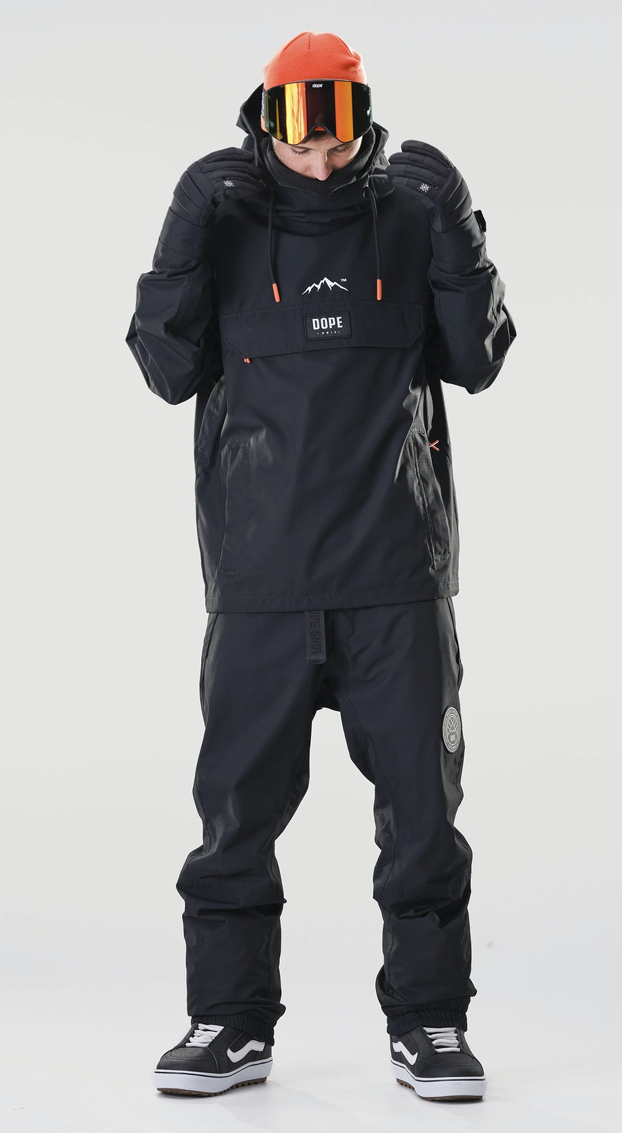 Dope Blizzard PO Black Vêtements de Snowboard  Multi