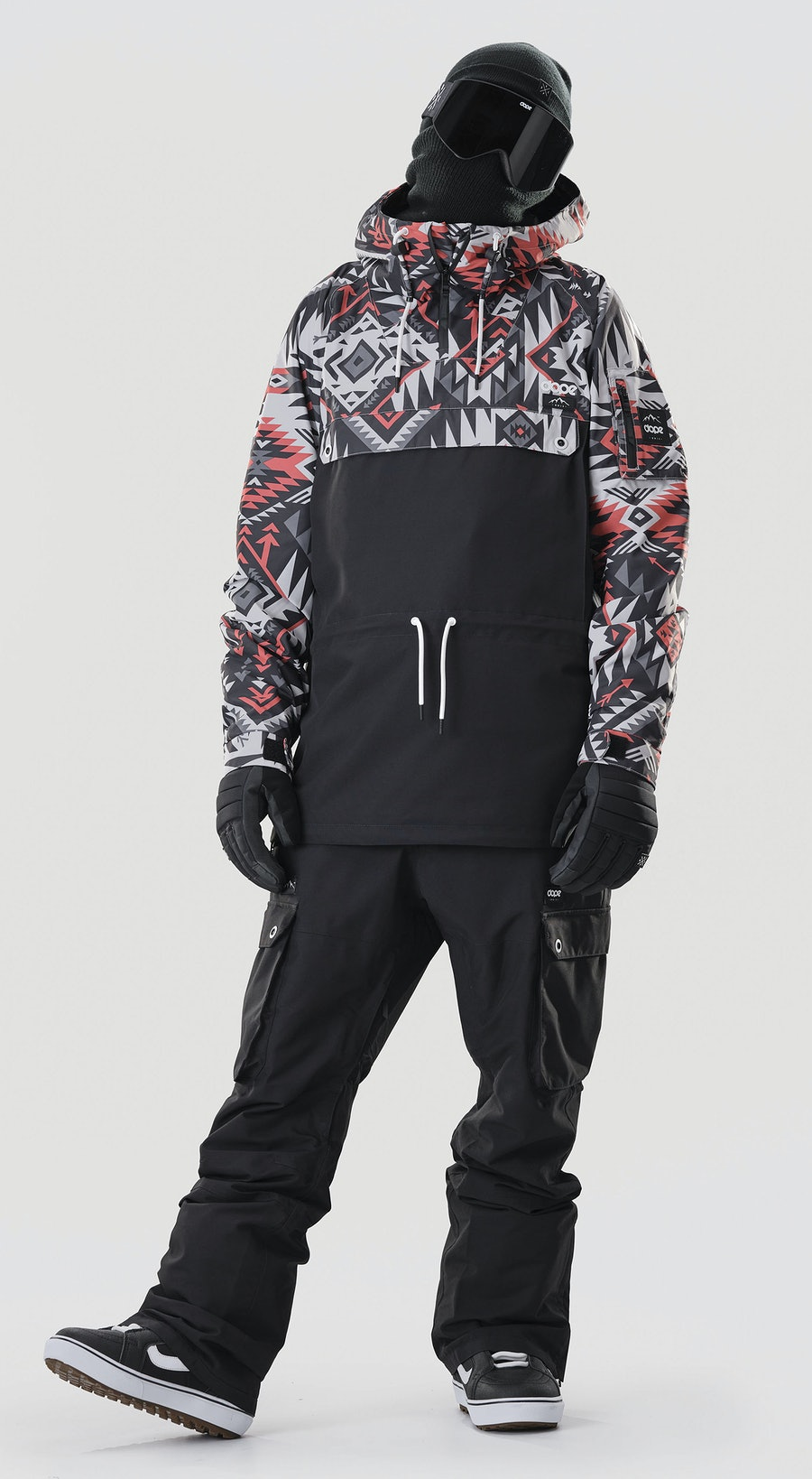 Dope Annok Arrow Red/Black Snowboardkläder Multi