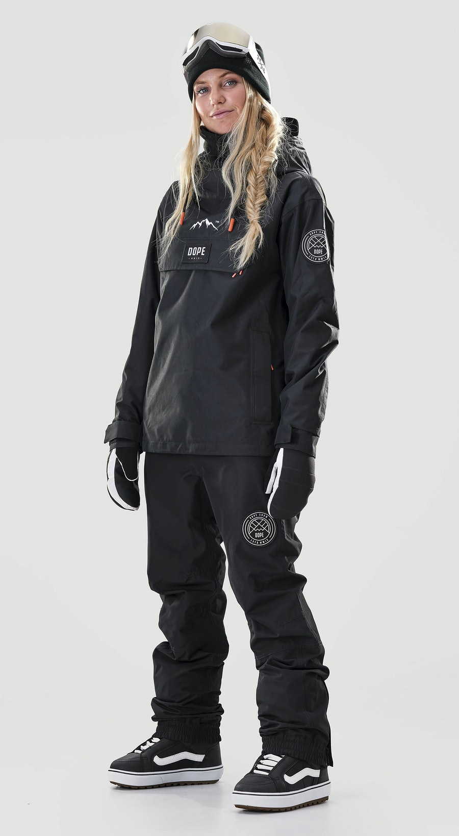 Dope Blizzard PO W Black Vêtements de Snowboard  Multi