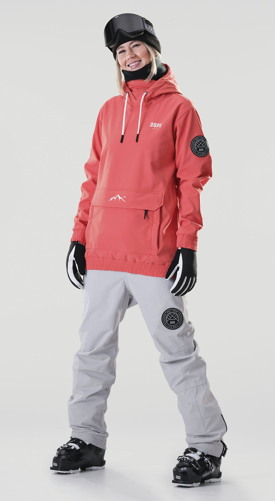 Dope Wylie Capital W Coral Ski Clothing Multi