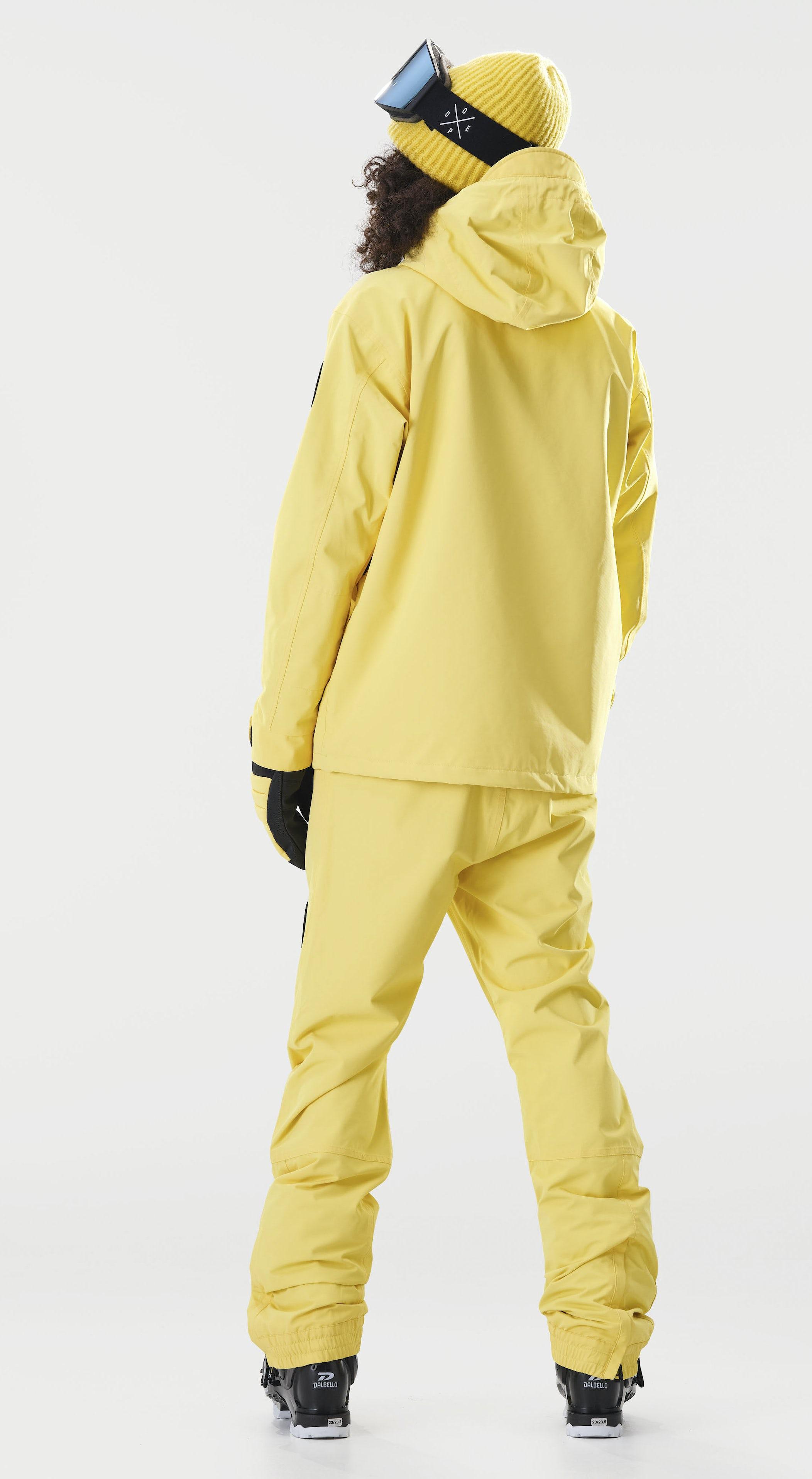 Dope Blizzard PO W Faded Yellow