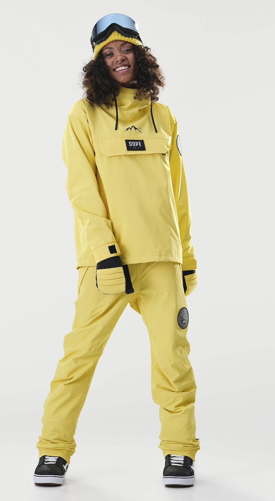 Dope Blizzard PO W Faded Yellow Vêtements de Snowboard  Multi