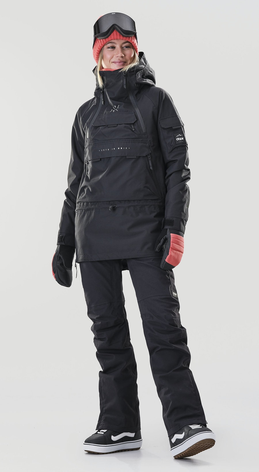 Dope Akin W Black Vêtements de Snowboard  Multi