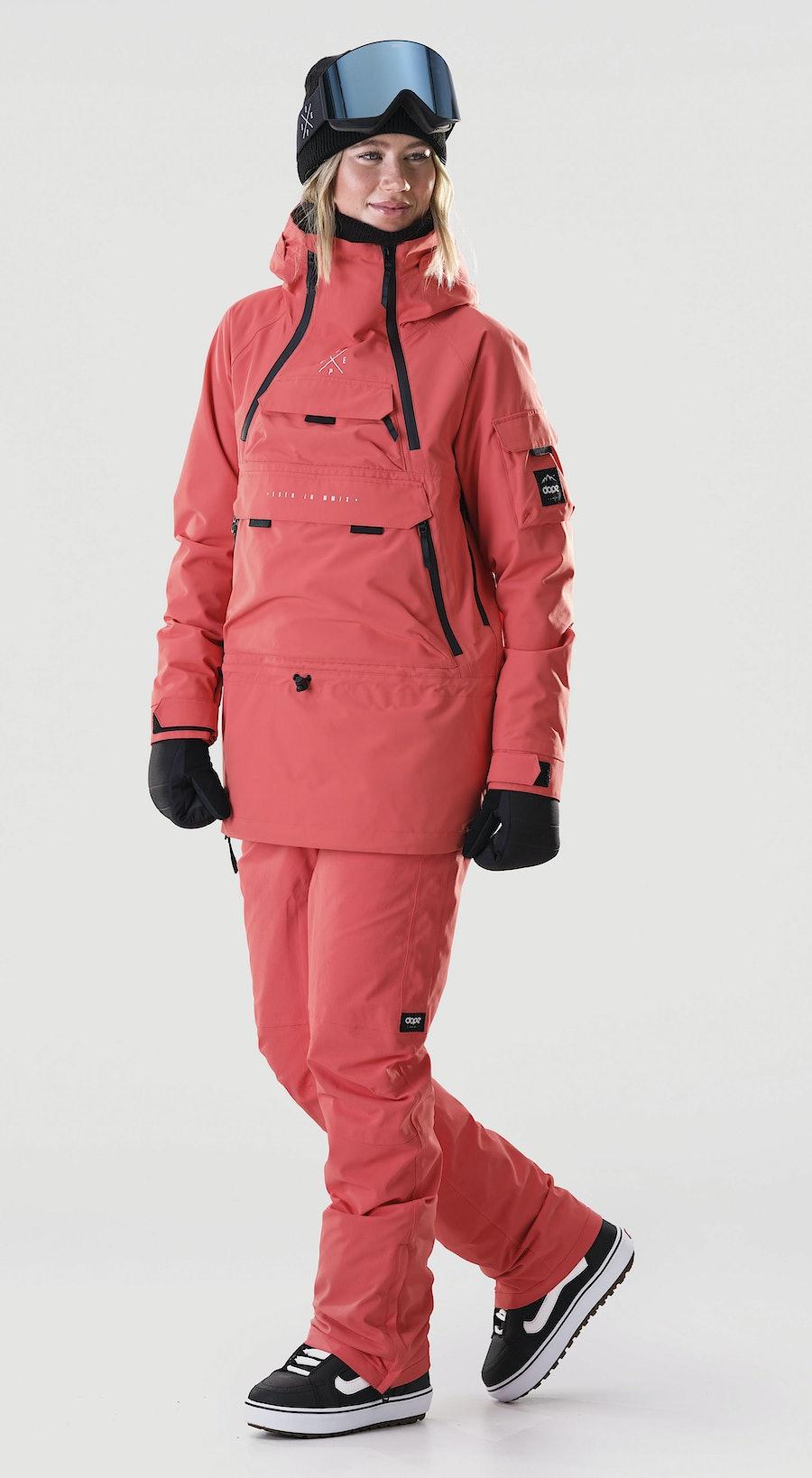 Dope Akin W Coral Snowboardkläder Multi