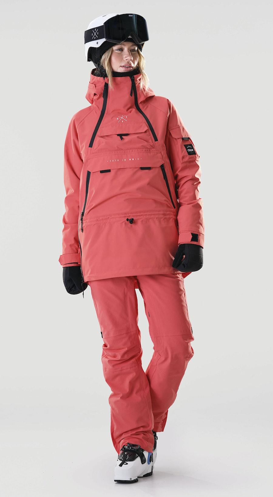 Dope Akin W Coral Ski kleding Multi