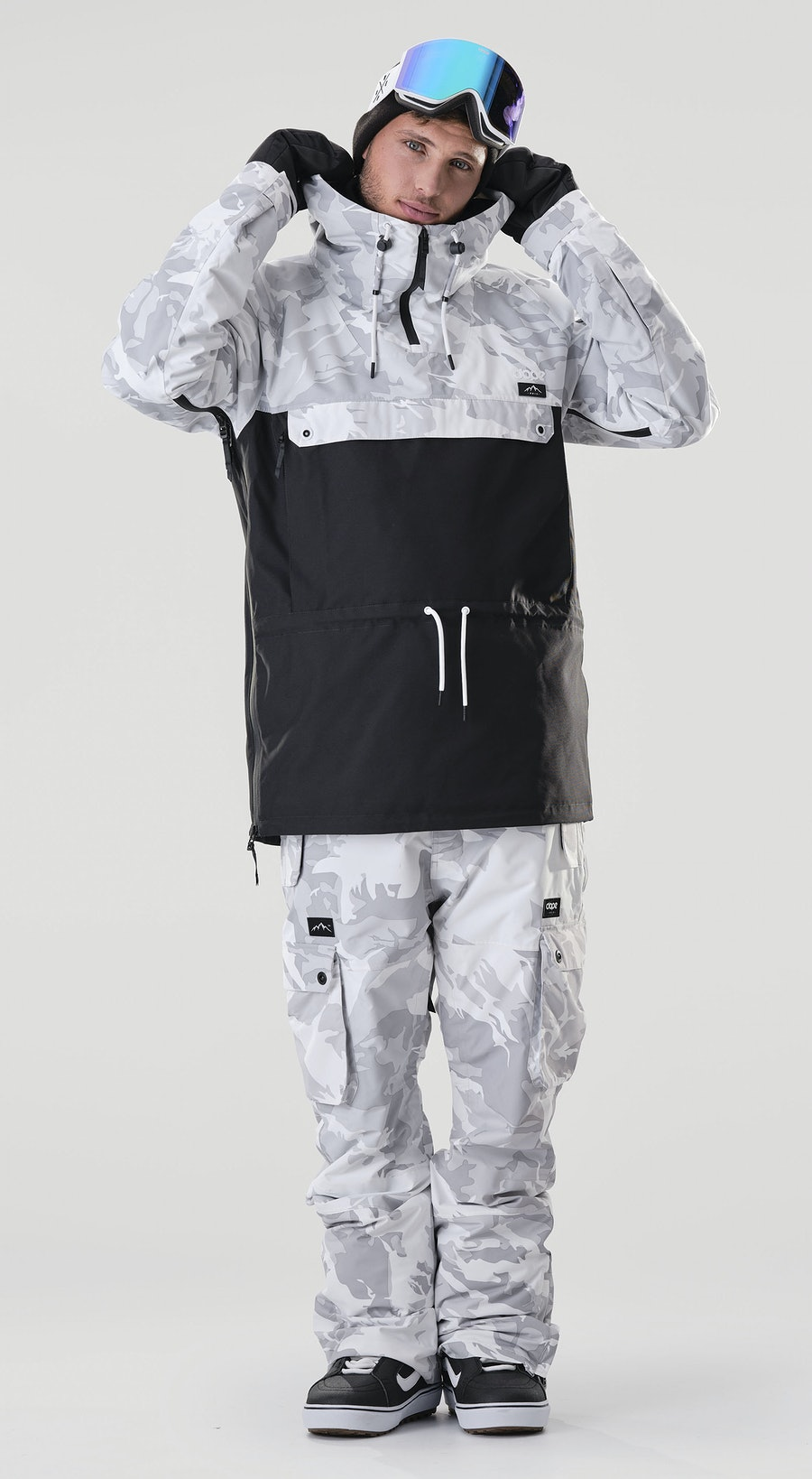 Dope Annok Tucks Camo/Black Vêtements de Snowboard  Multi