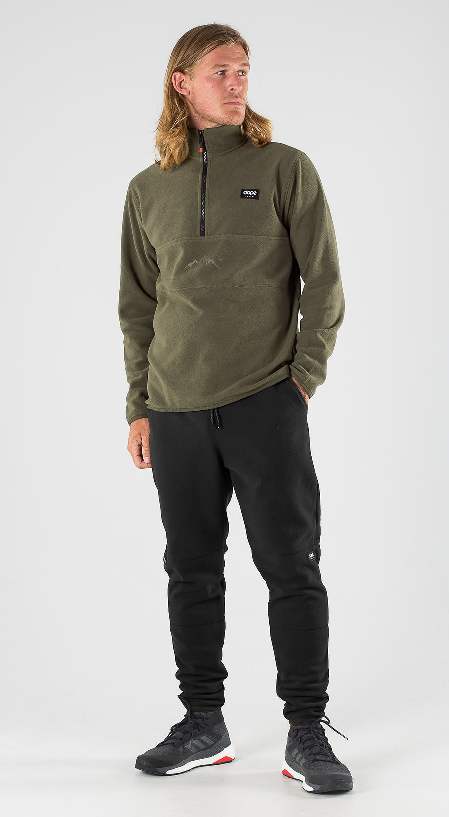 Dope Loyd Olive Green Outfit Multi