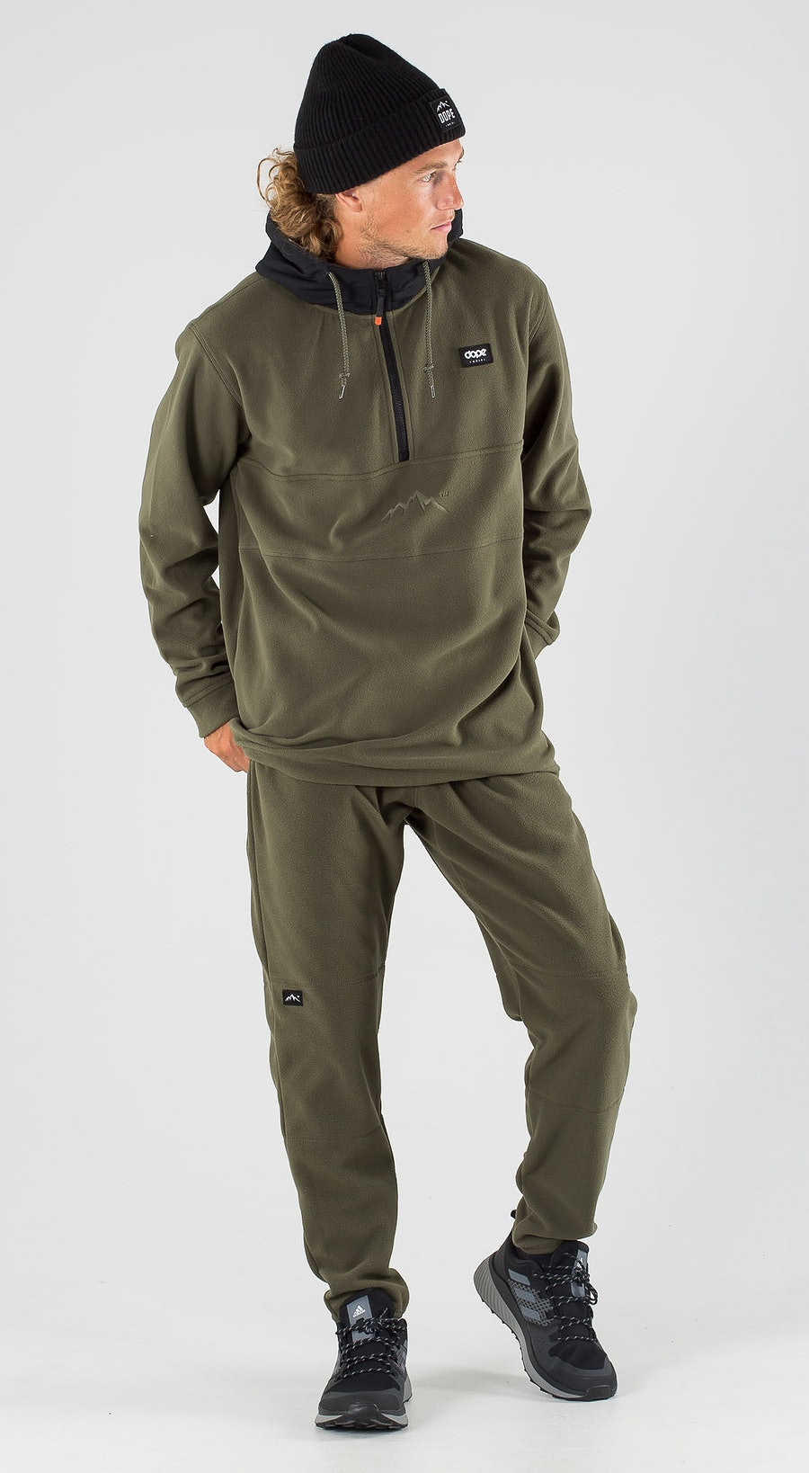 Dope Loyd PO Black/Olive Green Outfit Multi