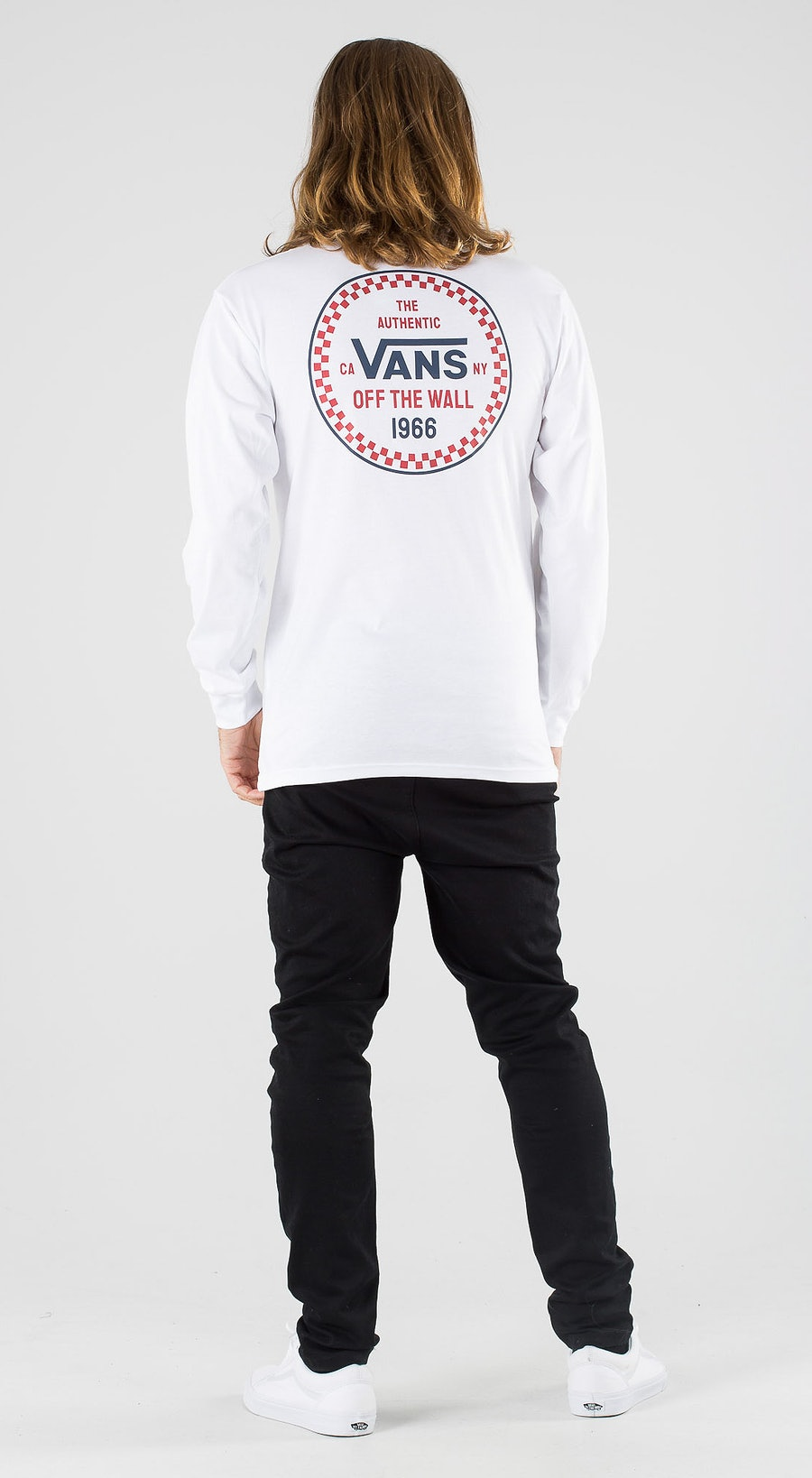 Vans Checker 66 White Outfit Multi
