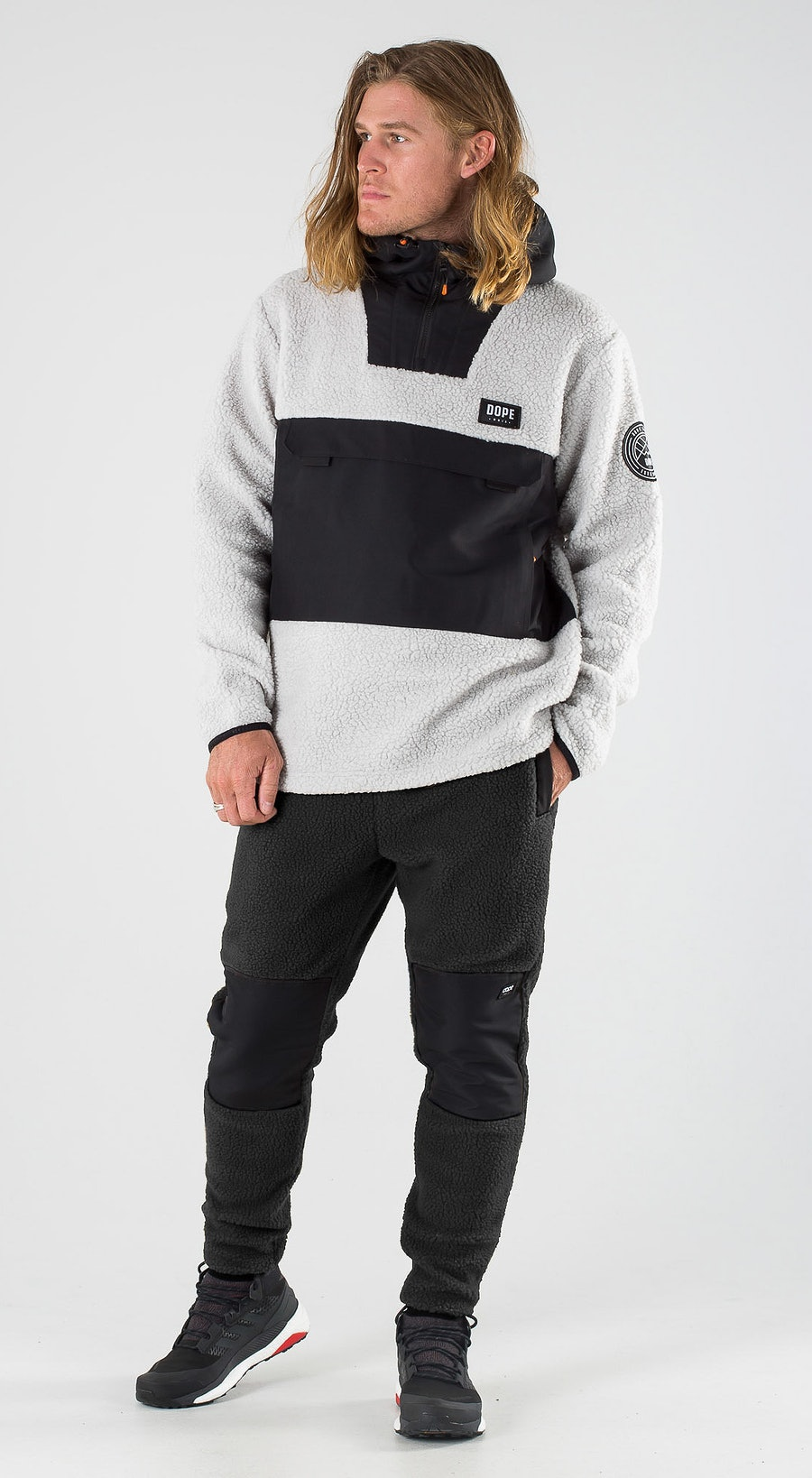 Dope Oi Black/Light Grey Outfit Multi