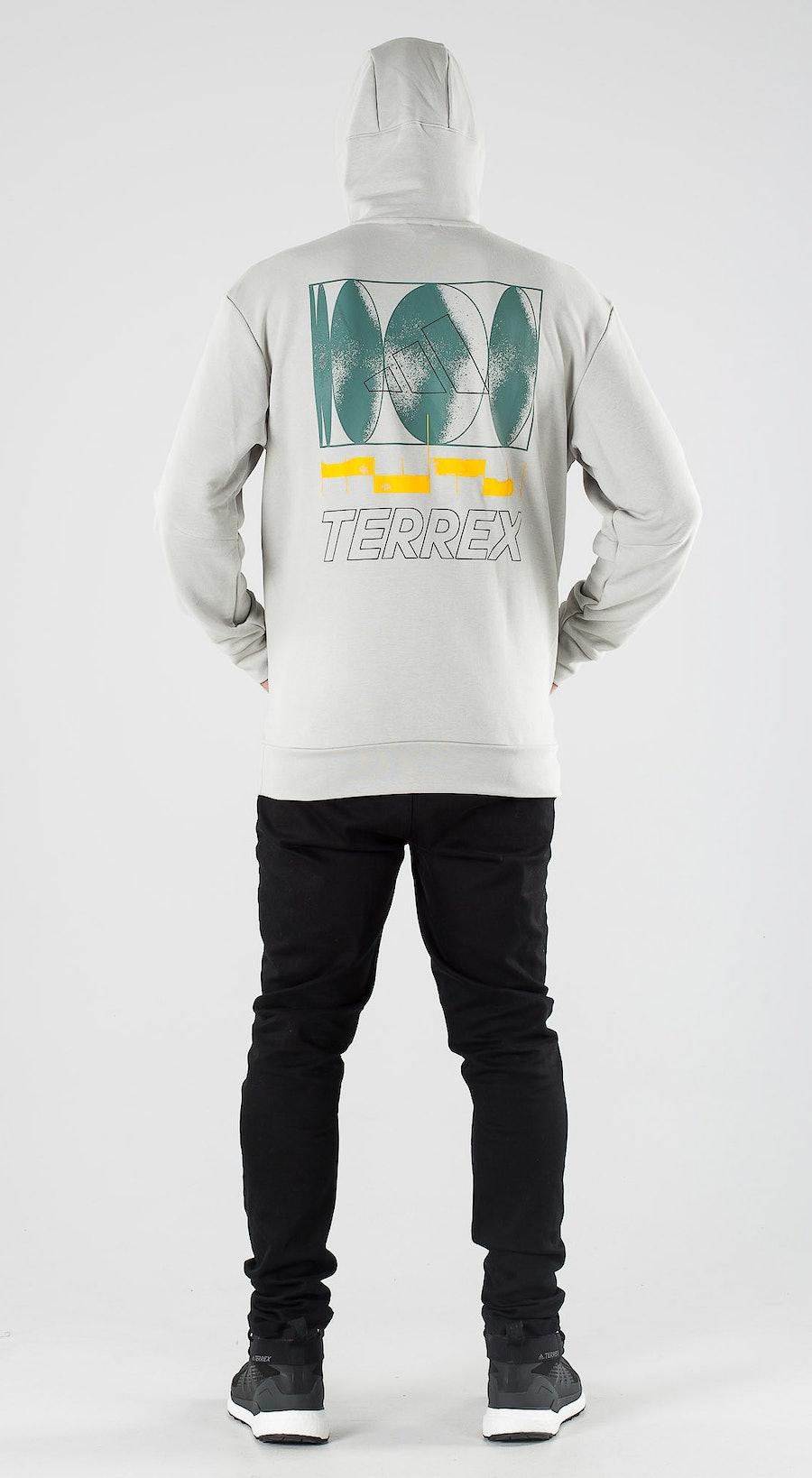 Adidas Terrex Terrex Logo Metal Grey Outfit Multi