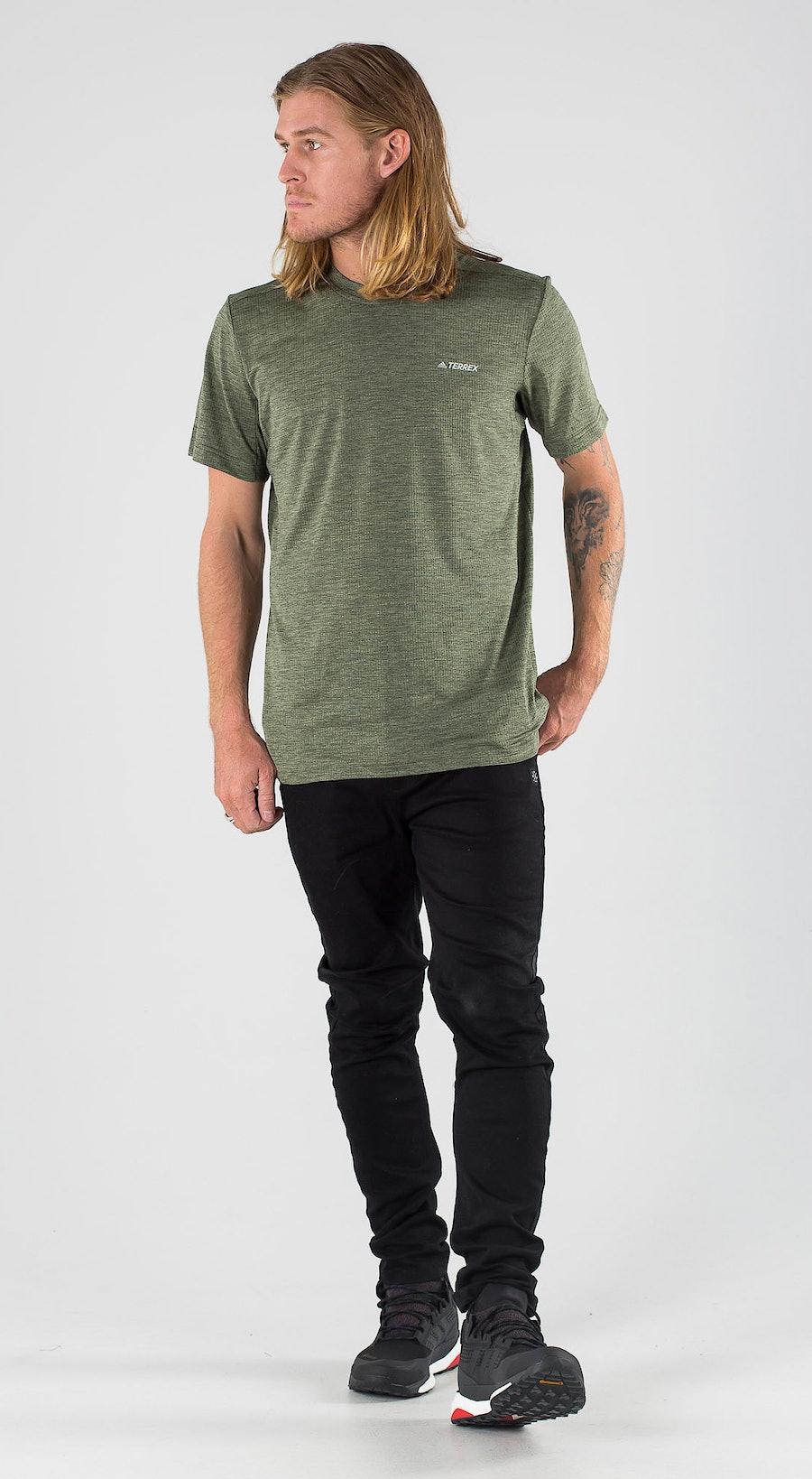 Adidas Terrex Tivid Legend Earth Outfit Multi
