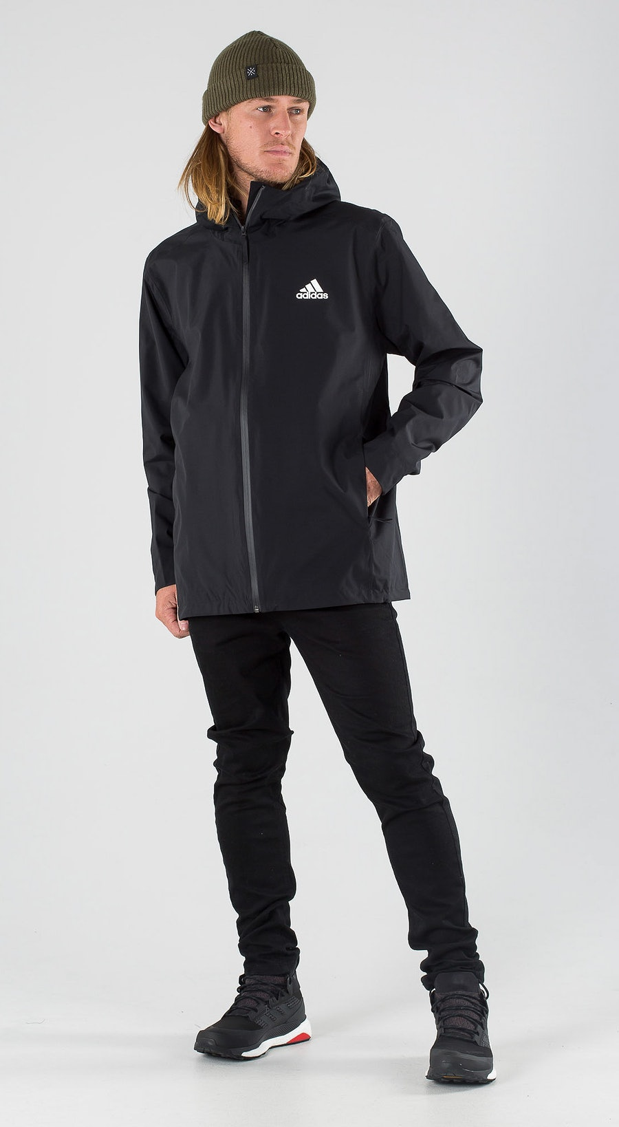 Adidas Terrex BSC 3S Rain RDY Black Outfit Multi