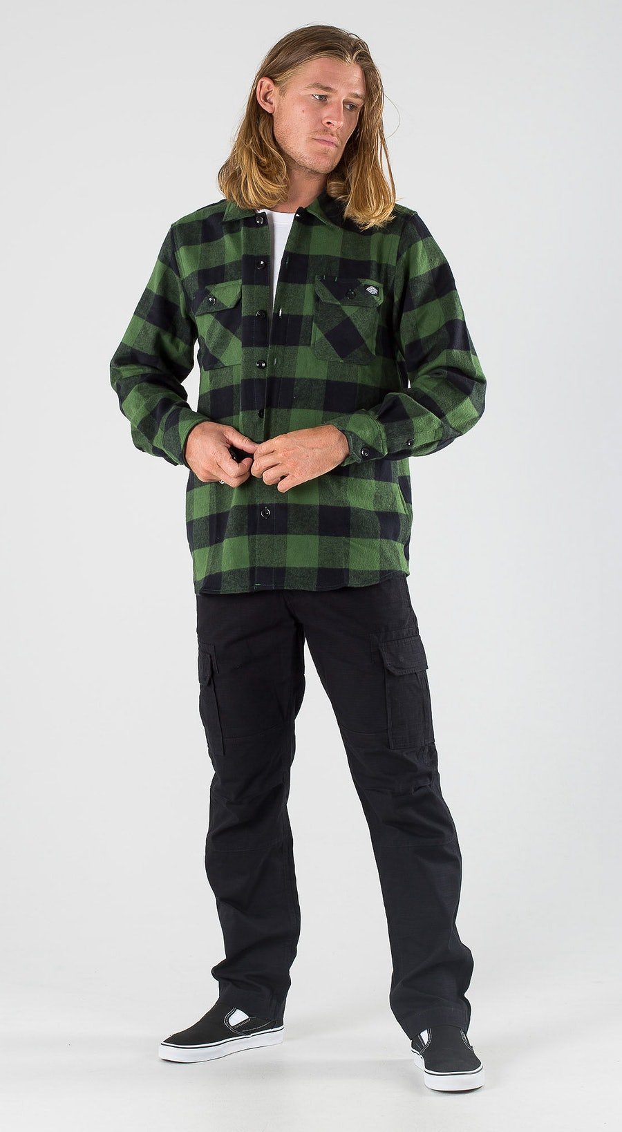 Dickies Sacramento Pine Green Outfit Multi