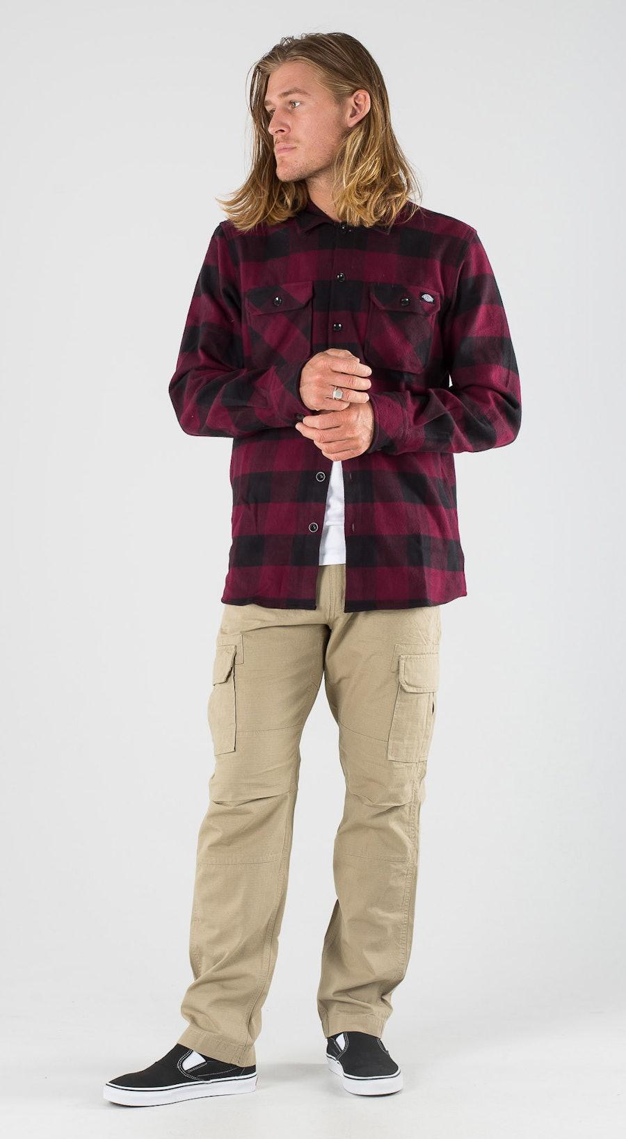 Dickies Sacramento Maroon Outfit Multi